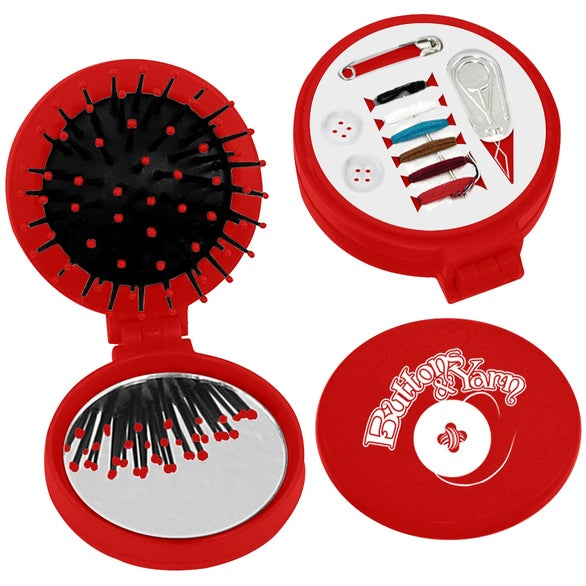 Red 3-in-1 Kit with Sewing Kit