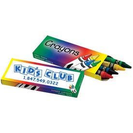 Printed 4 Pack Crayons