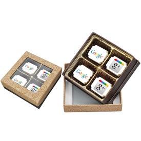 4 Piece Chocolate Box