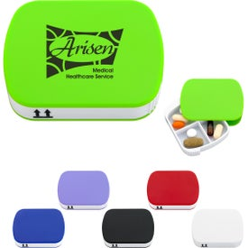 4-Section Pill Holder With Slide-Out Tray for your School