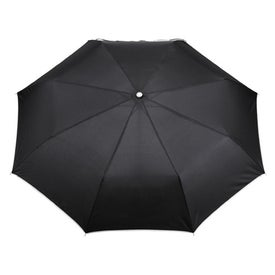 "41"" Arc Balmain Folding Umbrella Imprinted with Your Logo"