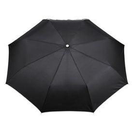 """41"""" Arc Balmain Folding Umbrella Imprinted with Your Logo"""