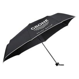"41"" Arc Balmain Folding Umbrella"