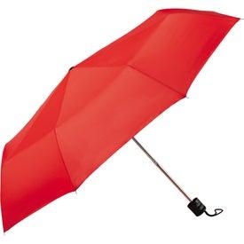 "Branded 41"" Pensacola Folding Umbrella"