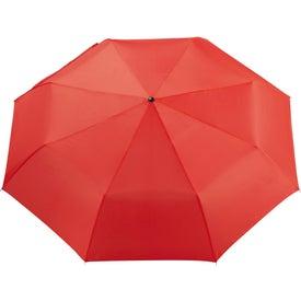 "41"" Pensacola Folding Umbrella with Your Slogan"