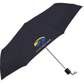"""41"""" Pensacola Folding Umbrella with Your Logo"""