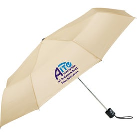 "Monogrammed 41"" Pensacola Folding Umbrella"