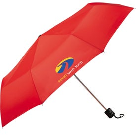 "Personalized 41"" Pensacola Folding Umbrella"