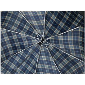 "42"" Arc Highlander Folding Auto Umbrella for Advertising"
