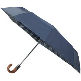 "42"" Arc Highlander Folding Auto Umbrella Giveaways"