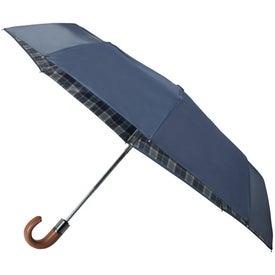 "42"" Arc Highlander Folding Auto Umbrella Giveaways"