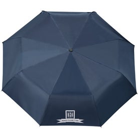 "Monogrammed 42"" Arc Highlander Folding Auto Umbrella"