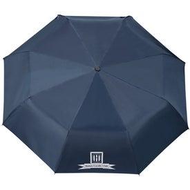 "Monogrammed 42"" Arc Highlander Folding Auto Umbrella"