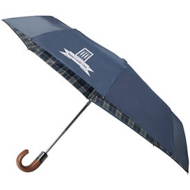 "Custom 42"" Arc Highlander Folding Auto Umbrella"