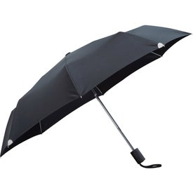"Customized 42"" Auto Open/Close Windproof Safety Umbrella"