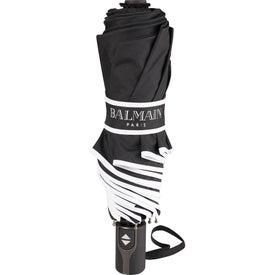 "42"" Balmain Runway Auto Folding Umbrella for Your Company"