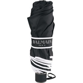 "Printed 42"" Balmain Runway Folding Umbrella"