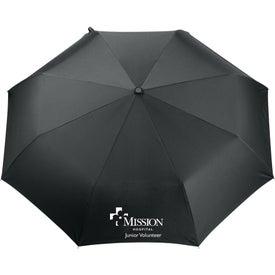 """Branded 42"""" Kate Deco Auto Open Close Folding Umbrella"""