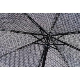 "Monogrammed 42"" Kate Deco Auto Open Close Folding Umbrella"
