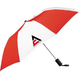 """Promotional 42"""" Miami Auto Folding Umbrella"""