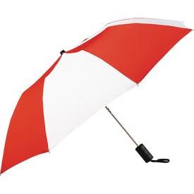 """Personalized 42"""" Miami Auto Folding Umbrella"""