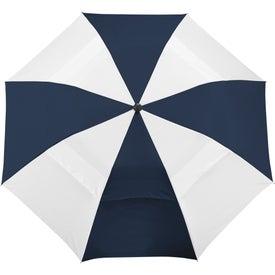 "Customized 42"" Vented Windproof Slim Stick Umbrella"