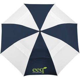 "42"" Vented Windproof Slim Stick Umbrella for Customization"
