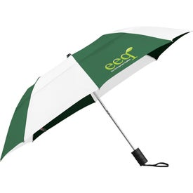 "42"" Vented Windproof Slim Stick Umbrella for Your Company"