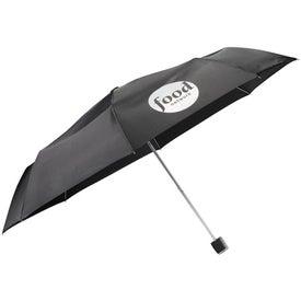"Imprinted 42"" Arc High Sierra Feather Weight Umbrella"