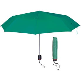 "Printed 43"" Arc Super-mini Telescopic Folding Umbrella"