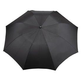 "Advertising 44"" Arc EcoSmart Folding Umbrella"