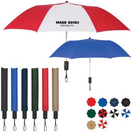 "Customized 44"" Arc Auto-Open Folding Umbrella"