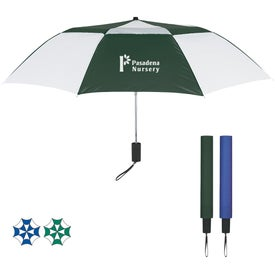 Telescopic Folding Vented Umbrella