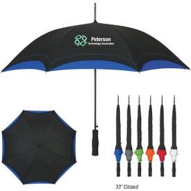 """46"""" Arc Accent Umbrella"""