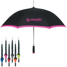 "46"" Arc Edge Two-tone Umbrella"