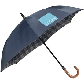 "48"" Arc Highlander Stick Umbrella for Your Company"