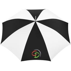 "Imprinted 48"" Nola Steel Fashion Umbrella"