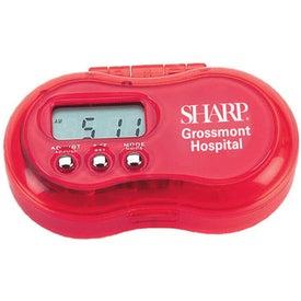 Printed 4 Alarm Pill Box