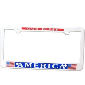 4 Holes License Plate Frame