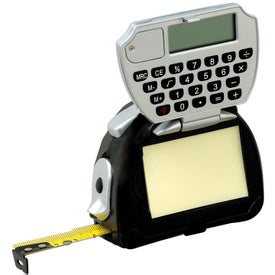 4-in-1 Tape/Calculator/Pad/Light