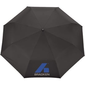 """54"""" Auto Open/Close Folding Umbrella Branded with Your Logo"""