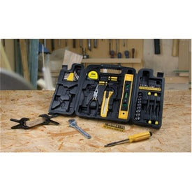 55 Piece Trifold Tool Set