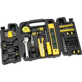 55 Piece Trifold Tool Set for your School
