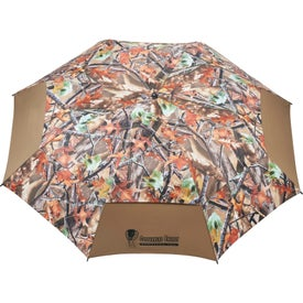 "58"" Hunt Valley Vented Folding Umbrella for Advertising"