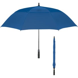"Custom 58"" Arc Vented Windproof Umbrella"