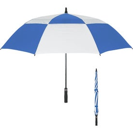 "Personalized 58"" Arc Vented Windproof Umbrella"