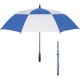 "Personalized 58"" Arc Vented Windproof Umbrella"