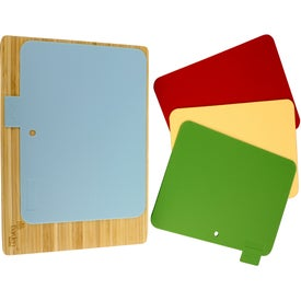 5 Piece Bamboo Cutting Board Set for Marketing