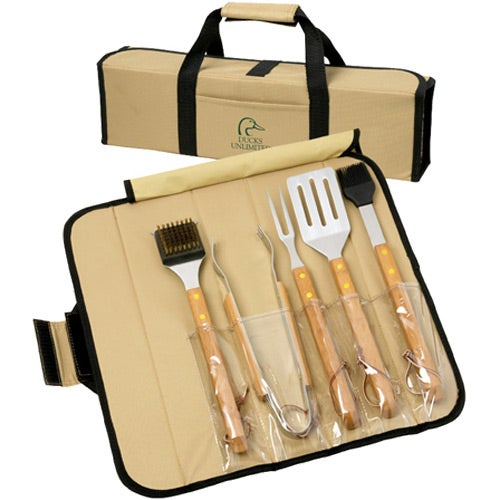 Bamboo BBQ Rollup Set