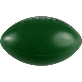 "Logo 6"" Plastic Football"